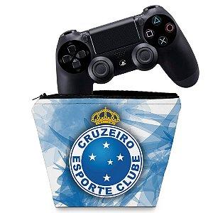 Capa PS4 Controle Case - Cruzeiro
