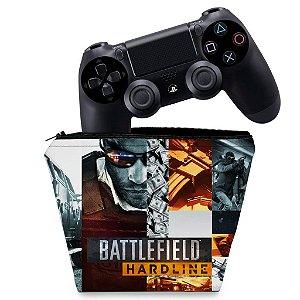 Capa PS4 Controle Case - Battlefield Hardline