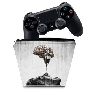 Capa PS4 Controle Case - The Evil Within