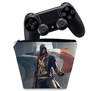 Capa PS4 Controle Case - Assassins Creed Unity