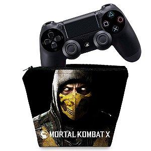 Capa PS4 Controle Case - Mortal Kombat X