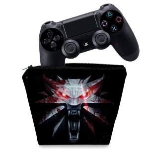 Capa PS4 Controle Case - The Witcher #A
