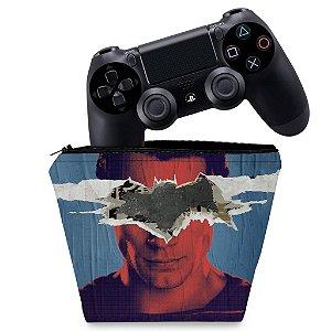 Capa PS4 Controle Case - Batman Vs Superman