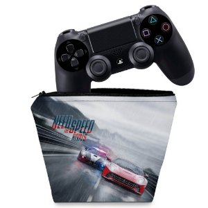 Capa PS4 Controle Case - Need For Speed Rivals