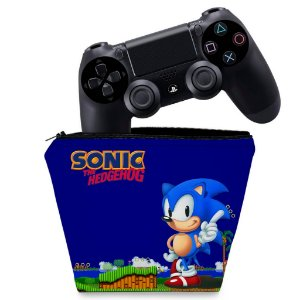 Capa PS4 Controle Case - Sonic The Hedgehog
