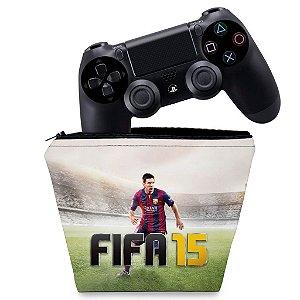 Capa PS4 Controle Case - Fifa 15