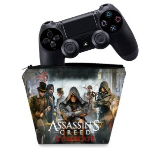 Capa PS4 Controle Case - Assassins Creed Syndicate