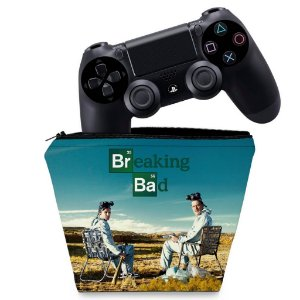 Capa PS4 Controle Case - Breaking Bad