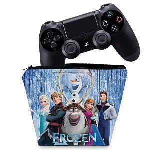 Capa PS4 Controle Case - Frozen
