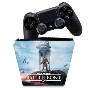 Capa PS4 Controle Case - Star Wars - Battlefront