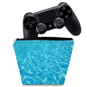 Capa PS4 Controle Case - Aquático Água