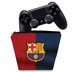 Capa PS4 Controle Case - Barcelona