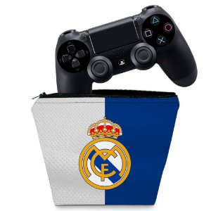 Capa PS4 Controle Case - Real Madrid