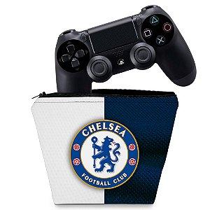 Capa PS4 Controle Case - Chelsea