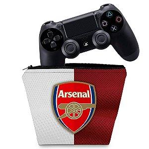 Capa PS4 Controle Case - Arsenal