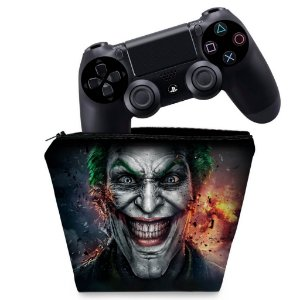 Capa PS4 Controle Case - Coringa Joker
