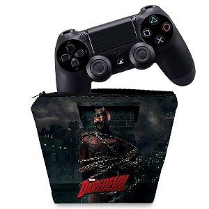Capa PS4 Controle Case - Daredevil Demolidor