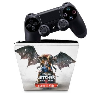 Capa PS4 Controle Case - The Witcher 3: Wild Hunt - Blood And Wine