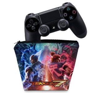 Capa PS4 Controle Case - Tekken 7