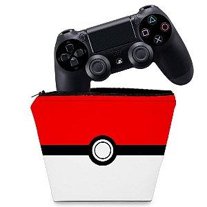 Capa PS4 Controle Case - Pokemon