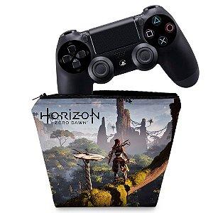 Capa PS4 Controle Case - Horizon Zero Dawn