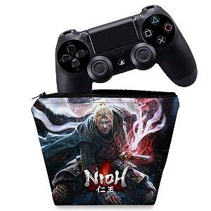 Capa PS4 Controle Case - Nioh