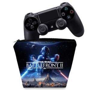 Capa PS4 Controle Case - Star Wars - Battlefront 2