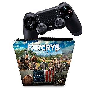 Capa PS4 Controle Case - Far Cry 5