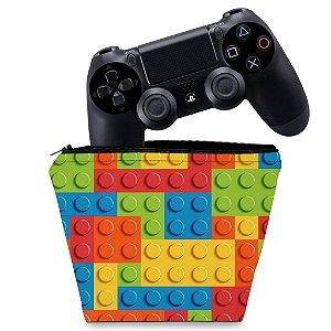 Capa PS4 Controle Case - Lego Peça