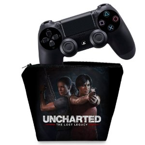 Capa PS4 Controle Case - Uncharted Lost Legacy
