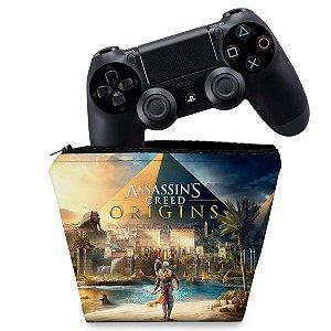 Capa PS4 Controle Case - Assassins Creed Origins