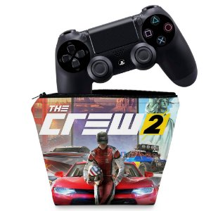 Capa PS4 Controle Case - The Crew 2
