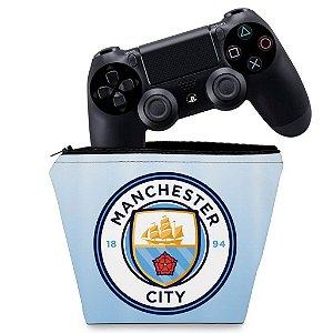 Capa PS4 Controle Case - Manchester City Fc