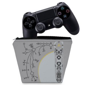 Capa PS4 Controle Case - God Of War Limited Edition