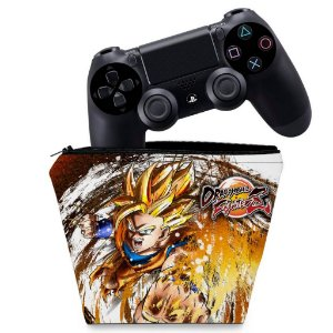 Capa PS4 Controle Case - Dragon Ball Fighterz