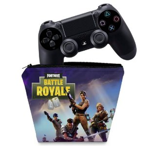 Capa PS4 Controle Case - Fortnite Battle Royale