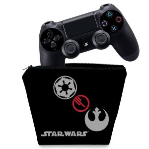 Capa PS4 Controle Case - Star Wars Battlefront 2 Edition