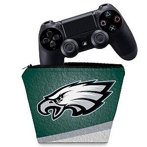 Capa PS4 Controle Case - Philadelphia Eagles Nfl