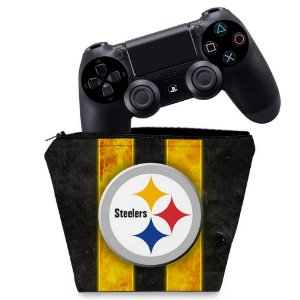 Capa PS4 Controle Case - Pittsburgh Steelers - Nfl