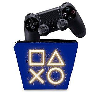 Capa PS4 Controle Case - Days Of Play Edição Limitada