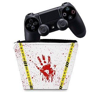 Capa PS4 Controle Case - Cena De Crime Scene