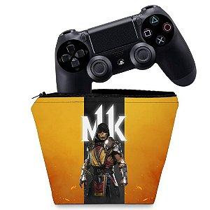 Capa PS4 Controle Case - Mortal Kombat 11