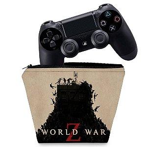 Capa PS4 Controle Case - World War Z