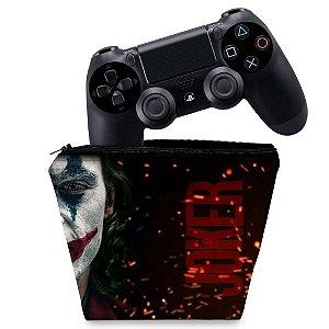 Capa PS4 Controle Case - Joker Coringa Filme