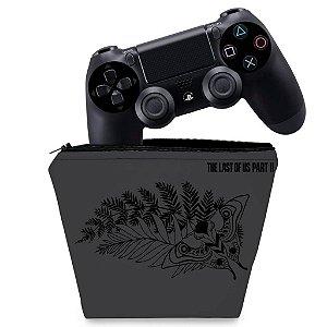Capa PS4 Controle Case - The Last Of Us Part 2 Ii Bundle