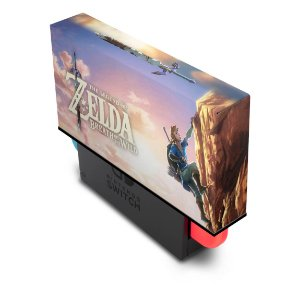 Nintendo Switch Capa Anti Poeira - Zelda Breath Of The Wild