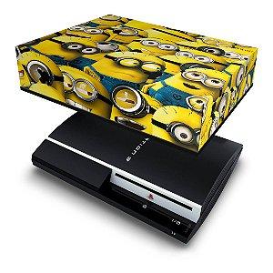 PS3 Fat Capa Anti Poeira - Minions