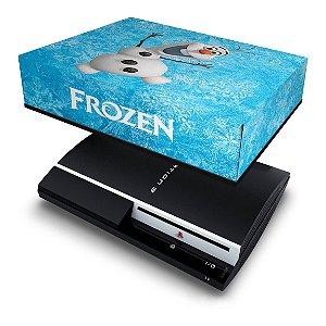 PS3 Fat Capa Anti Poeira - Frozen