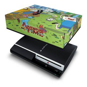 PS3 Fat Capa Anti Poeira - Hora De Aventura