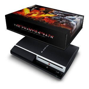 PS3 Fat Capa Anti Poeira - Metal Gear Solid 5